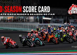 Mid-Season Score Card