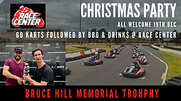 Race Center / RAS Christmas Party is GO!!!! 19th December