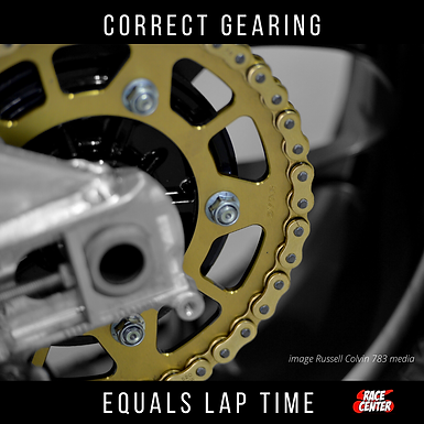 Correct Gearing Equals Lap Time