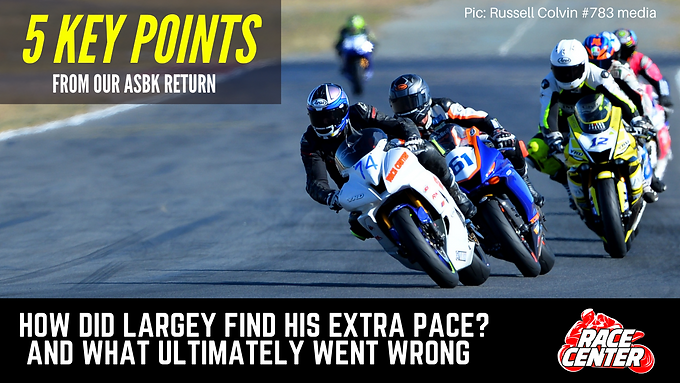 5 KEY POINTS FROM OUR ASBK RETURN