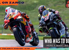 Pol or Zarco – Who's to Blame?