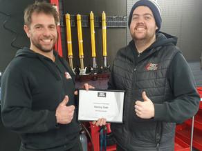 Congratulations – Saucy Receives Promotion 😊