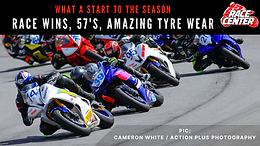 A Bag Full of Race Wins, 57s, PBs and Amazing Tyre Wear – What a way to kick of our Race Season