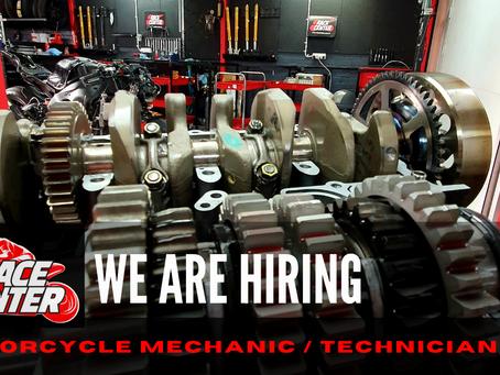 Motorcycle Mechanic / Technician Wanted – Race Center