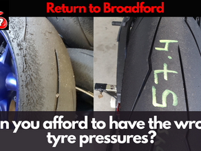 Return to Broadford – Can you really afford to have the wrong tyre pressures?