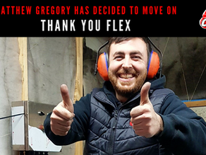 Thank you FLEX – Matthew Gregory has decided to move on