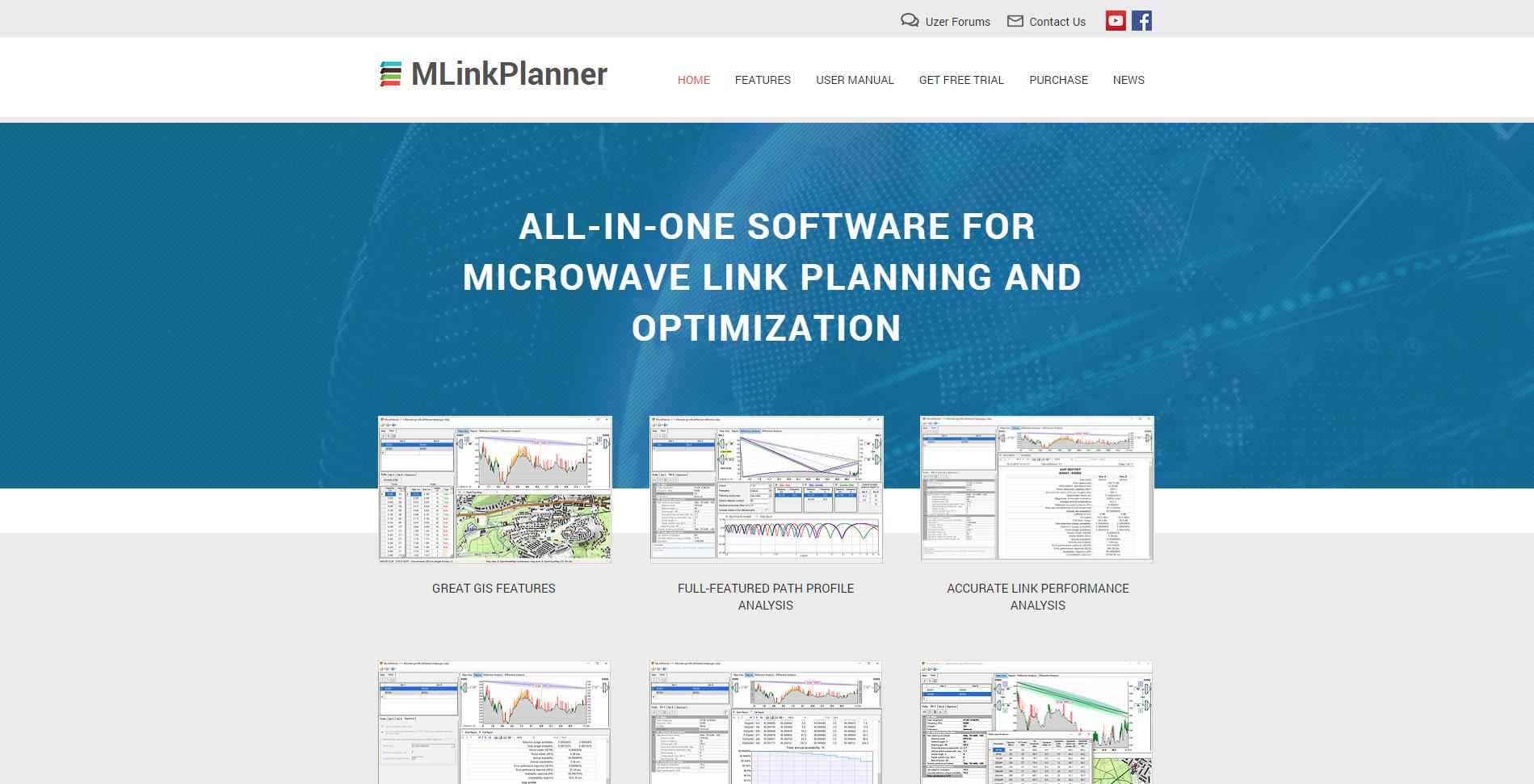 Сайт программного продукта