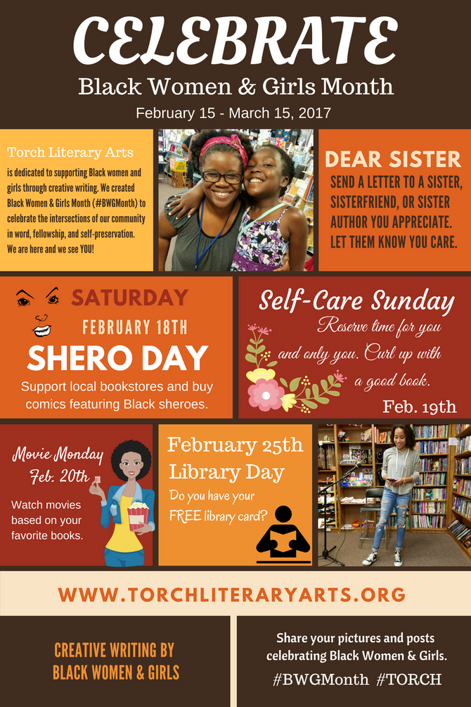 Celebrate Black Women & Girls Month: February 15 - March 15