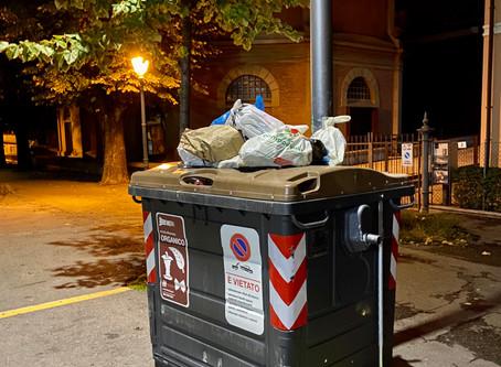 Budrio: l'aumento di 100 kg di rifiuti a cittadino, spiegato bene.