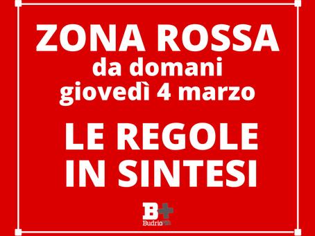 Zona rossa Bologna e provincia. Le regole in vigore dal 4 marzo