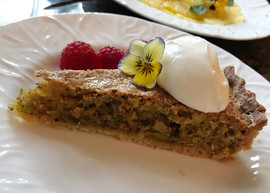 Pistachio and Orange Tart