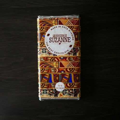 Tablette de 100gr 75% de cacao