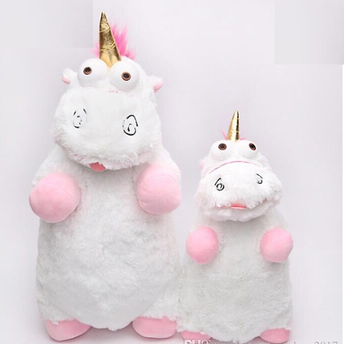 Uncorn soft plush kids toy. From