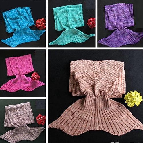 Mermaid Tail Blankets