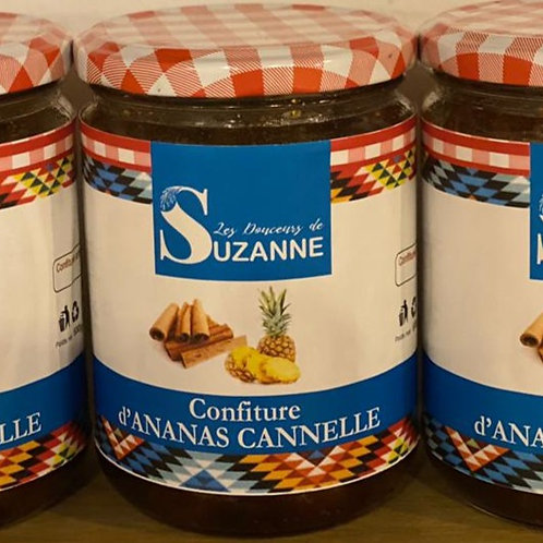 Confiture ananas canelle