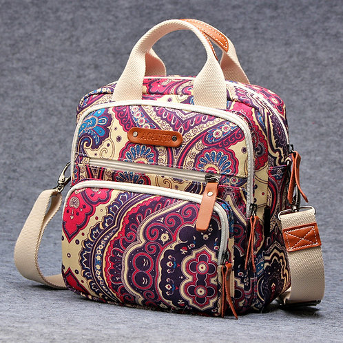 Pink Hippy Style Waterproof Changing Bag