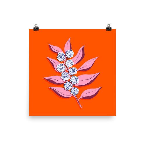 Electric Cotton Flower