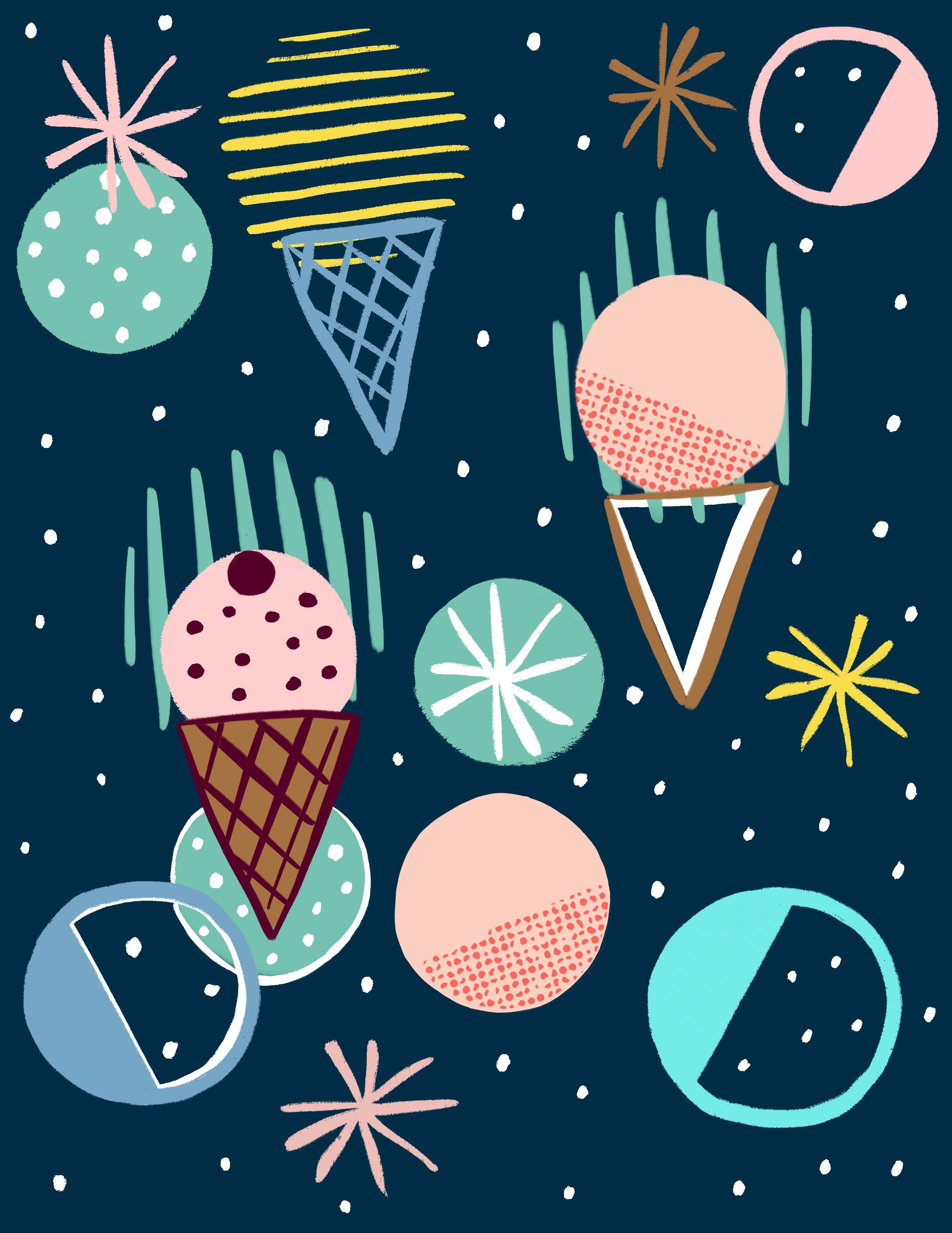 Ice cream universe