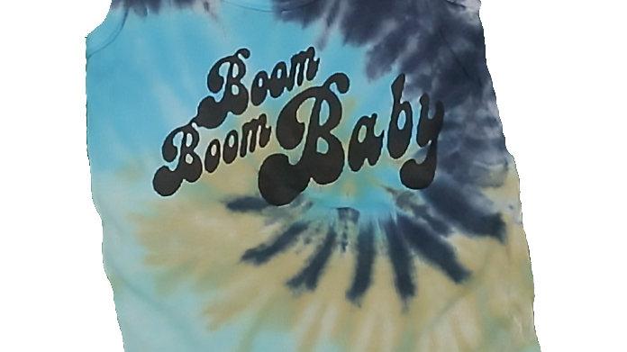 Boom Boom Tie Dye Tank Top