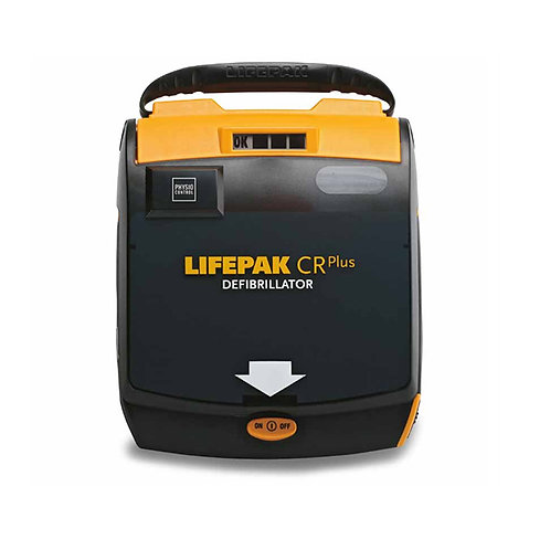 Physio Control LIFEPAK CR Plus AED Defibrillator Package