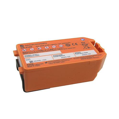 Nihon Kohden Cardiolife AED Replacement Battery SB-310V