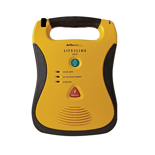 Defibtech Lifeline AED Defibrillator Package
