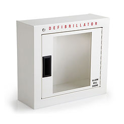 AED Wall Cabinet Storage with Alarm