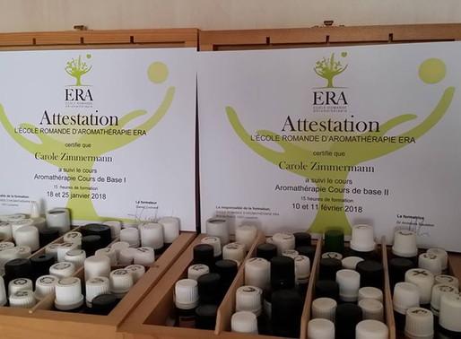 Formation continue en aromathérapie