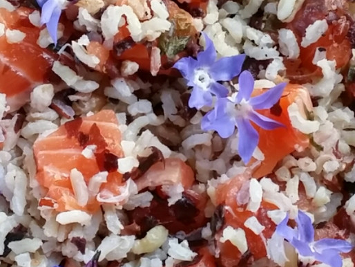 Aroma-saveurs: saumon en robe d'été