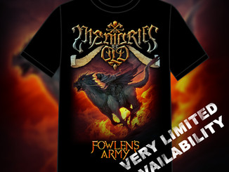 Limited Fowlen's Army T-Shirts! *Coming Soon*
