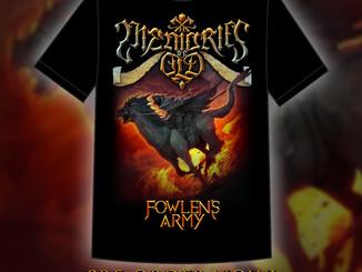 Fowlen's Army T-Shirt Pre-order