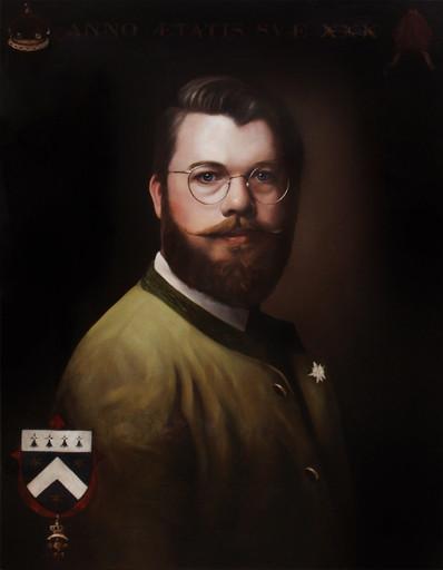 James Cavendish of Buittle (2020) oils on canvas, 60cm x 77cm