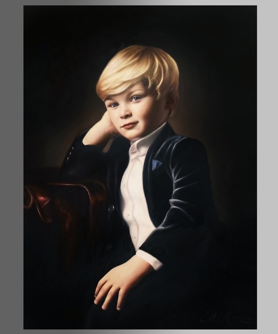 Harvey William Steel, (2019) oils on canvas, 60cm x 80cm