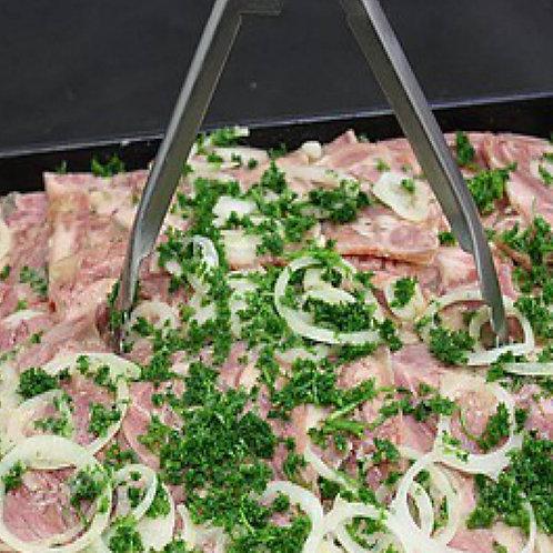 Salade de museau de porc vinaigrette