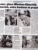 la voix du nord reportage sur le marché et photo de la charcuterie philippe et yvonne