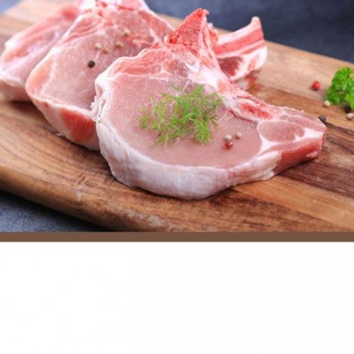 Côte de porc des hauts de France Labellisé