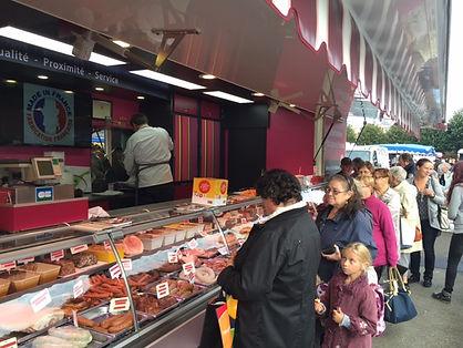 marché de Lomme le samedi matin
