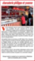 sur le marché de la madeleine label qualite pour la charcuterie philippe et yvonne