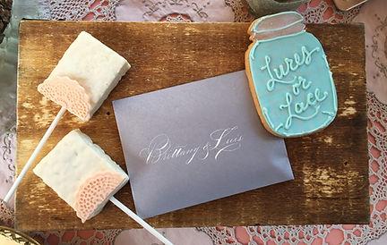 Spencerian Calligraphy Envelopes