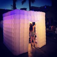 LED Enclosure Photo Booth