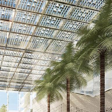 Sheikh Khalifa Medical City, Solar