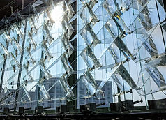 Newlab Solar Facade Installation