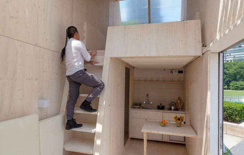 ELM loft living space