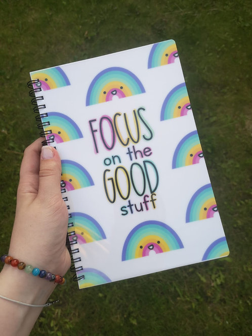 Focus on the Good Stuff A5 Notebook