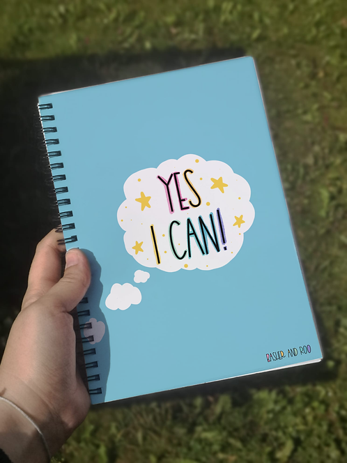 Yes I Can A5 Notebook