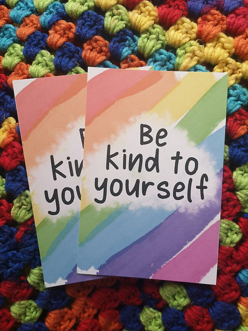 Be Kind to Yourself Postcard