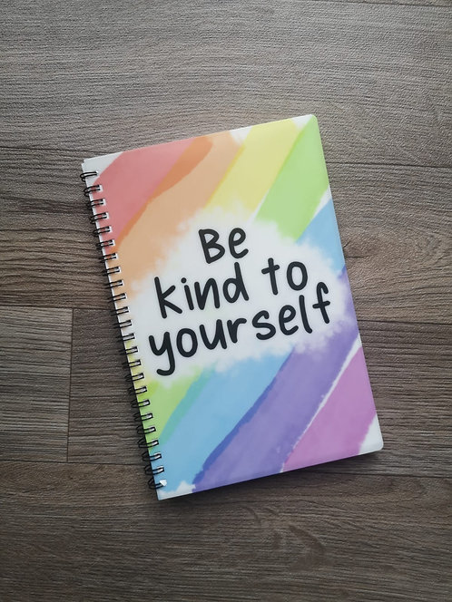 Be Kind to Yourself A5 Notebook