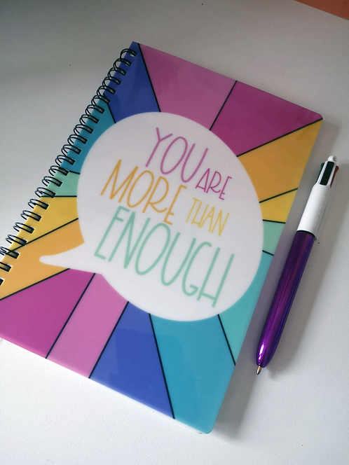 You are More Than Enough A5 Notebook