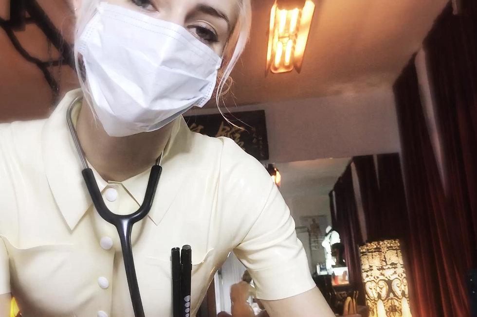 Medical Play, Latex Gloves Fetish, Mistress Euryale