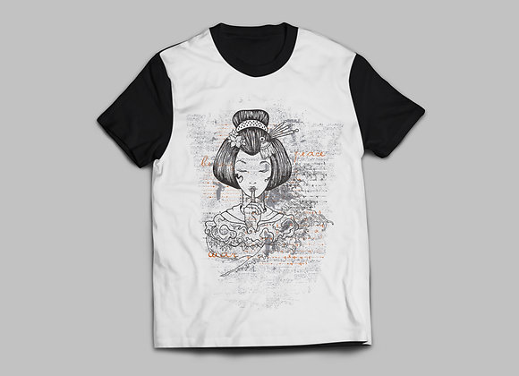 Camiseta Peace Gueixa